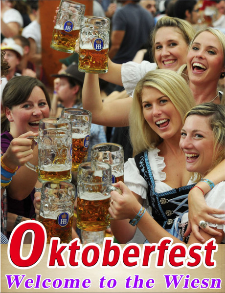 Oktoberfest-Welcome to the Wiesn